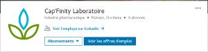 Image Capfinity sur Linkedin page principale